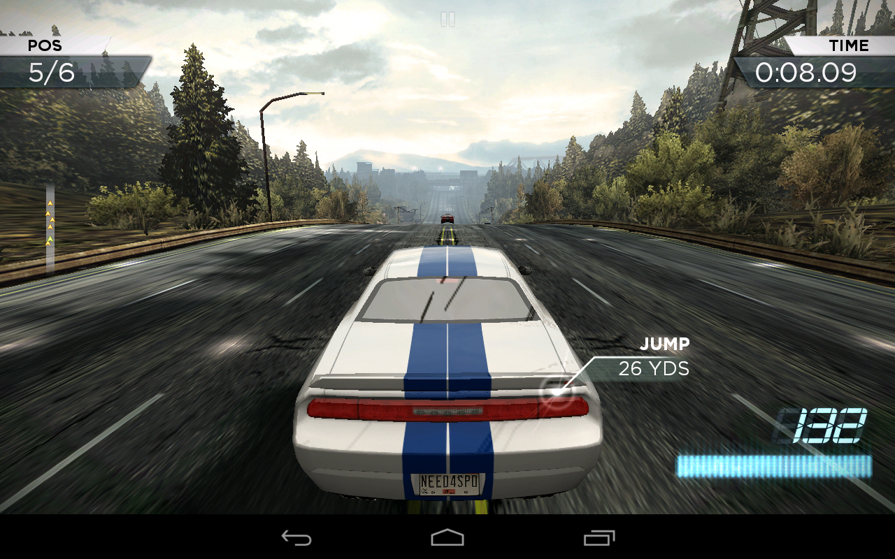 The tablet test ipad mini vs android nexus 7 featuring for Nfs most wanted android