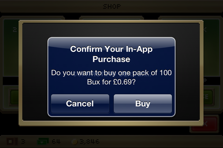 PSA: iOS 7's in-app purchase confirmation screen now comes