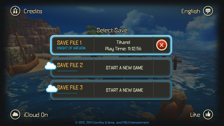 How to get the new Oceanhorn content, using our 100% complete save