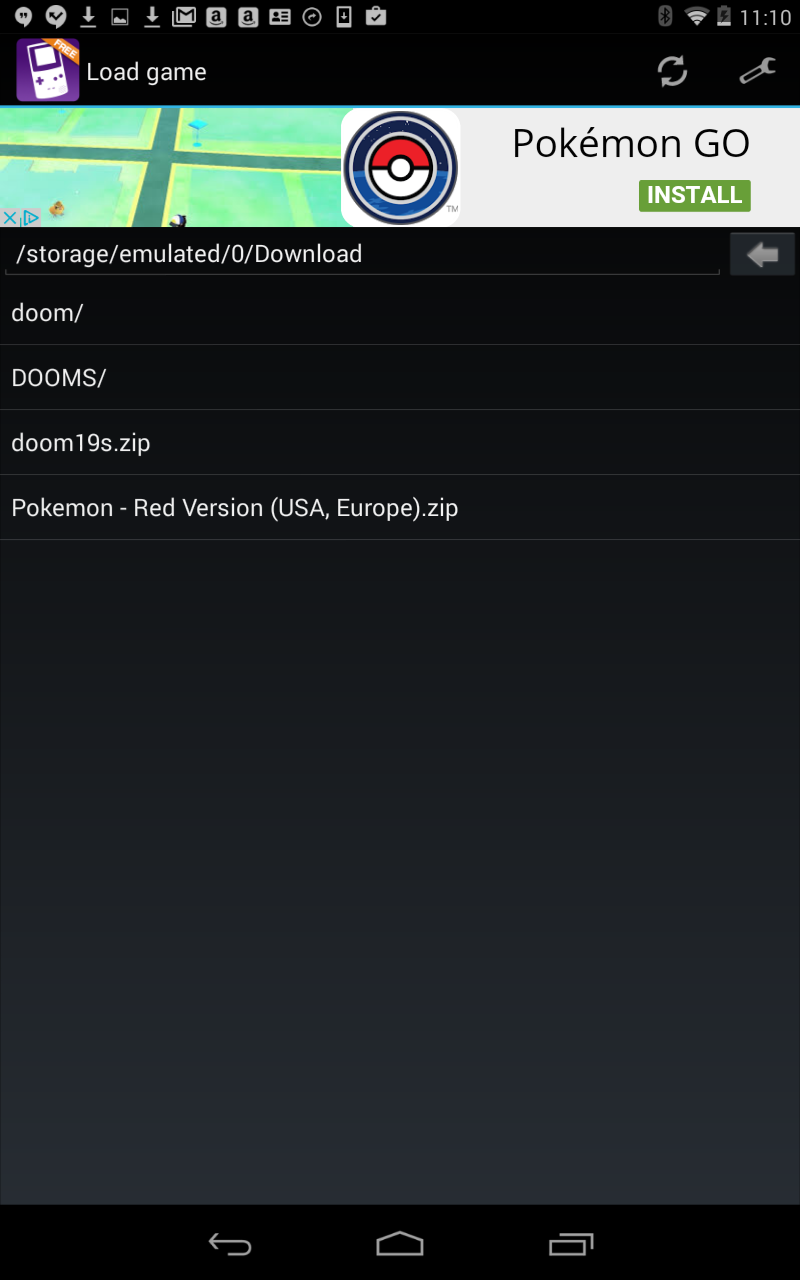 How to play Pokemon Red, Blue, and Yellow on Android