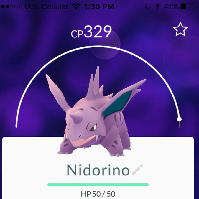Pokemon Go Nidoran Evolve Images
