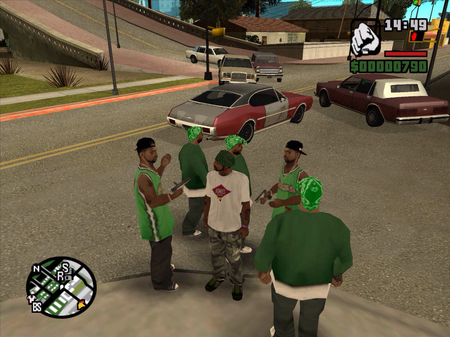 Update Grand Theft Auto San Andreas Parachutes Onto
