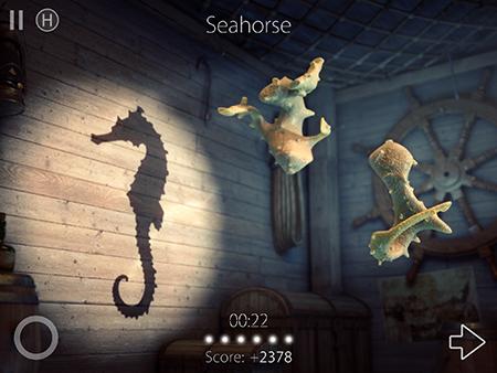 Shadowmatic - Level 4.2 walkthrough / solution (Seahorse) | iPhone ...