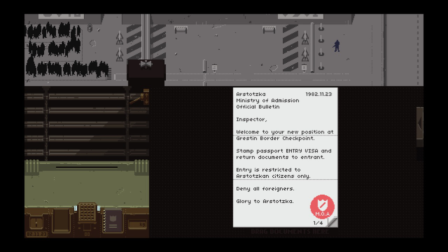 buy papers please uk Buy, study, and share this game as an example of video games as true art ars technica papers please is a fantastic idea, beautifully executed ign it's peculiarly engrossing, darkly.