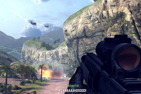 Modern Combat 4 iPad vs Android